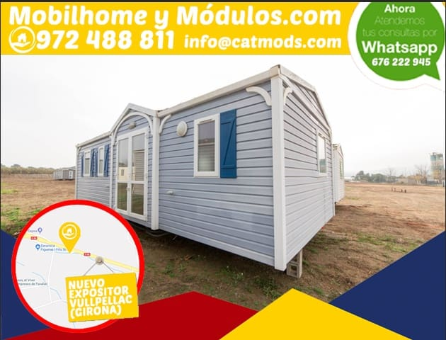 3 bedroom Mobile Home for sale in Vulpellac - € 16,950 (Ref: 5055129)