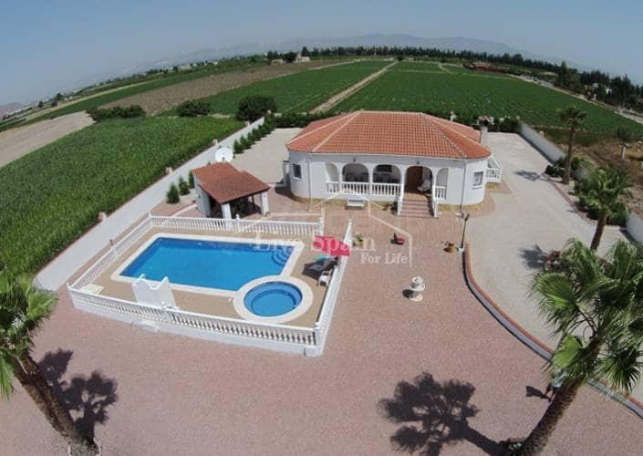 Finca/Casa Rural de 3 habitaciones en Orihuela en venta con piscina - 279.000 € (Ref: 4913435)