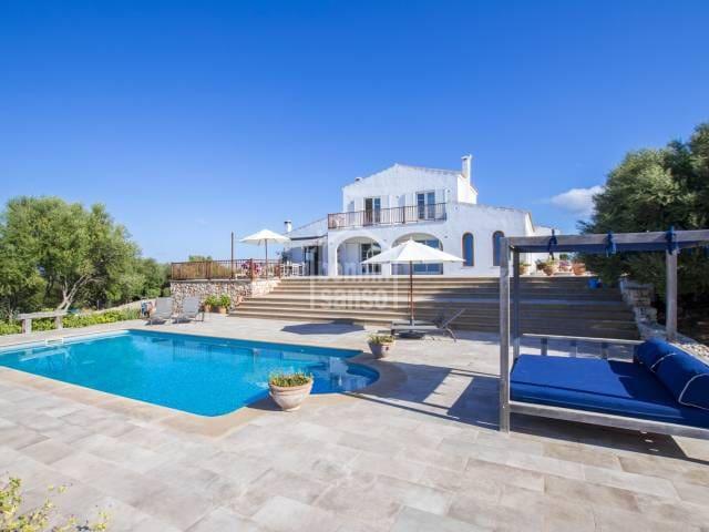 3 chambre Penthouse à vendre à Ferreries avec piscine - 2 350 000 € (Ref: 5467193)