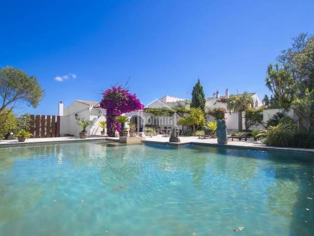 7 soverom Villa til salgs i El Migjorn Gran / Es Migjorn Gran med svømmebasseng garasje - € 2 600 000 (Ref: 5657617)