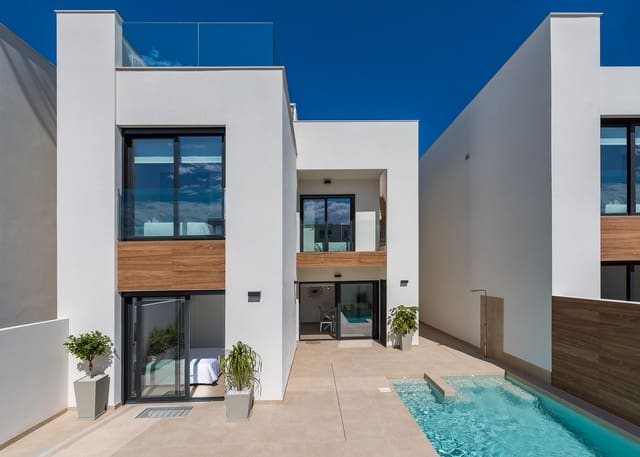 3 makuuhuone Omakotitalo myytävänä paikassa Benimar mukana uima-altaan - 279 900 € (Ref: 5487986)