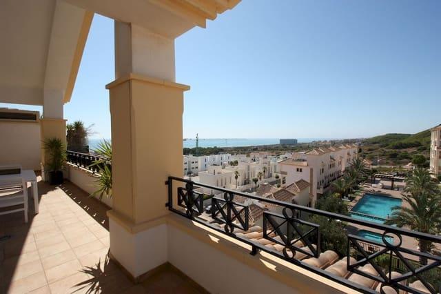 2 slaapkamer Penthouse te huur in Guardamar del Segura met zwembad - € 1.100 (Ref: 5518145)