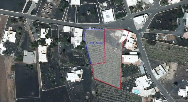 Grunde uden byggetilladelser til salg i Mala - € 125.000 (Ref: 4830267)