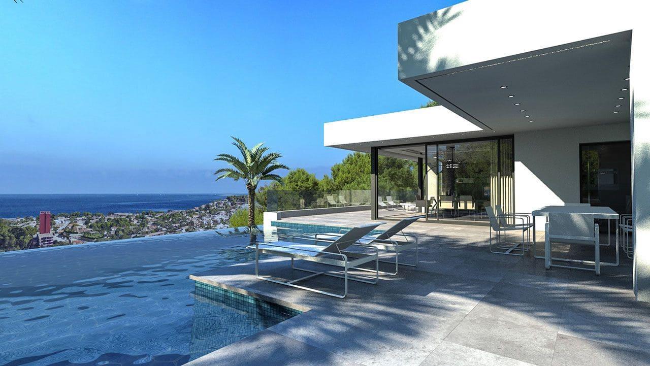 3 bedroom Villa for sale in Denia with pool - € 780,000 (Ref: 5985515)