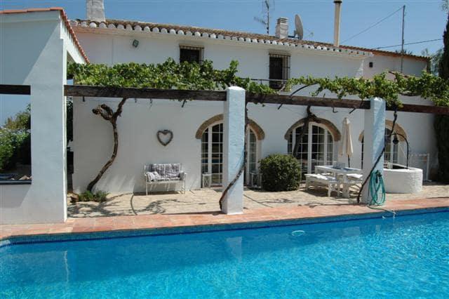 5 sypialnia Finka/Dom wiejski na sprzedaż w La Xara z basenem - 625 000 € (Ref: 4286084)