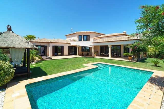 4 Zimmer Ferienvilla in Beniarbeig mit Pool Garage - 870 € (Ref: 3712549)