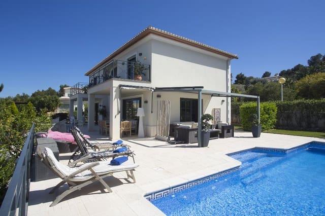 3 Zimmer Ferienvilla in Adsubia mit Pool Garage - 470 € (Ref: 3712558)