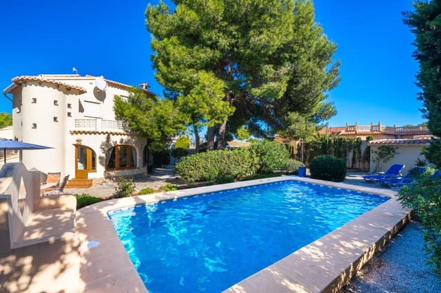 2 Zimmer Ferienfinca/landgut in Javea / Xabia mit Pool Garage - 430 € (Ref: 3777678)