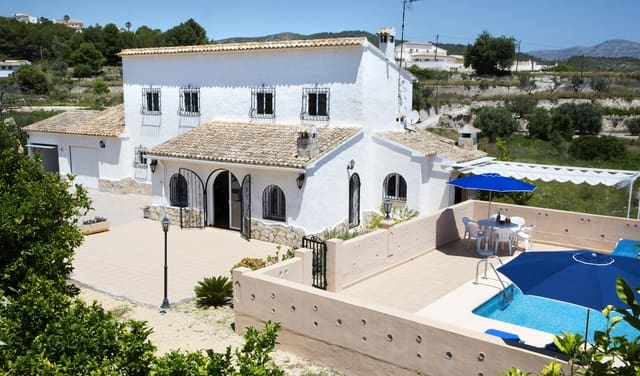 3 bedroom Finca/Country House for holiday rental in Benitachell / Benitatxell with pool garage - € 310 (Ref: 3777683)