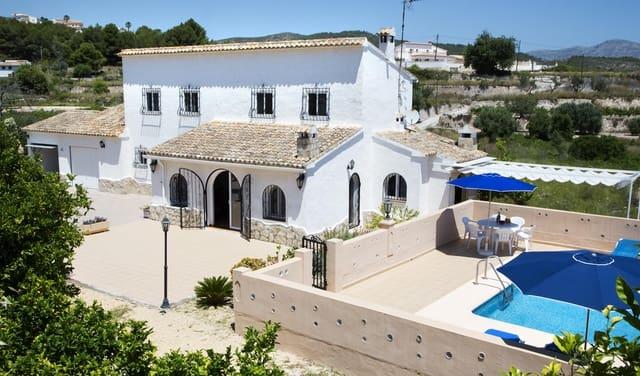 3 camera da letto Finca/Casa di Campagna da affitare come casa vacanza in Benitachell / Benitatxell con piscina garage - 310 € (Rif: 3777683)