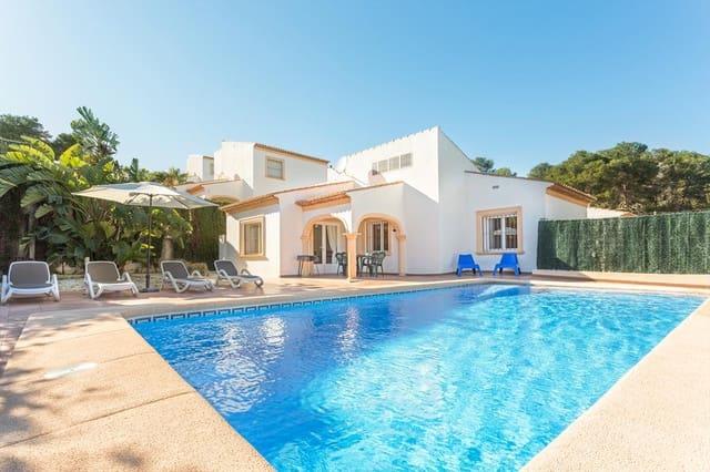 2 camera da letto Finca/Casa di Campagna da affitare come casa vacanza in Javea / Xabia con piscina garage - 375 € (Rif: 3777695)