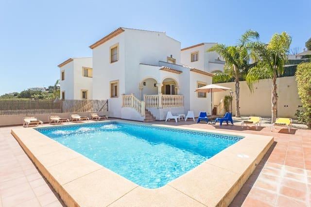 Finca/Casa Rural de 3 habitaciones en Javea / Xàbia en alquiler vacacional con piscina garaje - 261 € (Ref: 3777700)