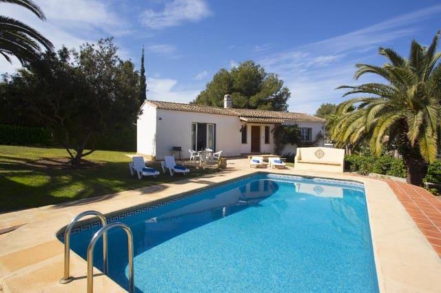 2 sypialnia Willa na kwatery wakacyjne w Javea / Xabia z basenem garażem - 325 € (Ref: 3777702)