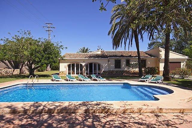 2 bedroom Villa for holiday rental in Javea / Xabia with pool garage - € 617 (Ref: 3799225)