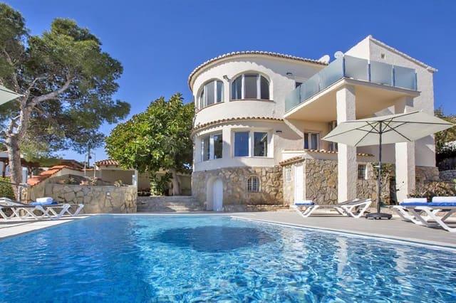 3 sypialnia Willa na kwatery wakacyjne w Javea / Xabia z basenem garażem - 718 € (Ref: 3806190)