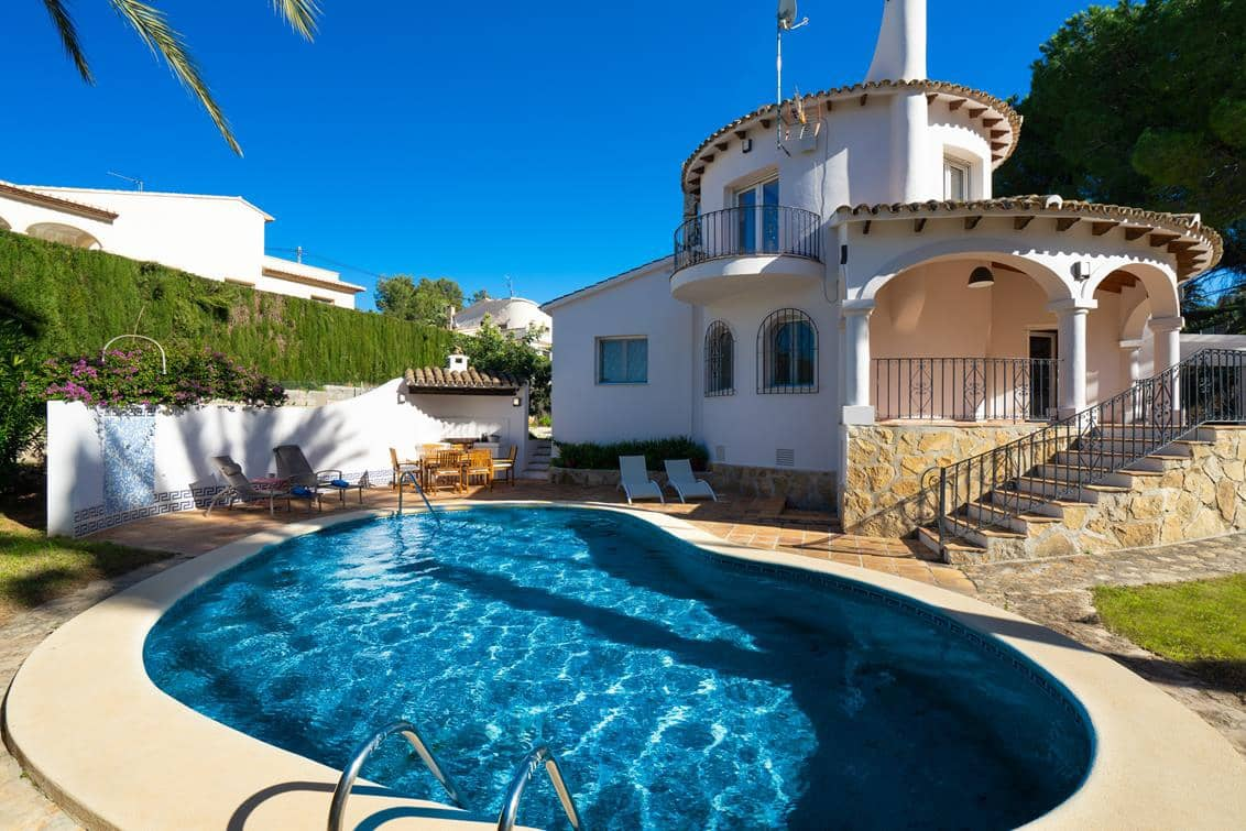 1 bedroom Finca/Country House for holiday rental in Denia with pool garage - € 347 (Ref: 3865628)