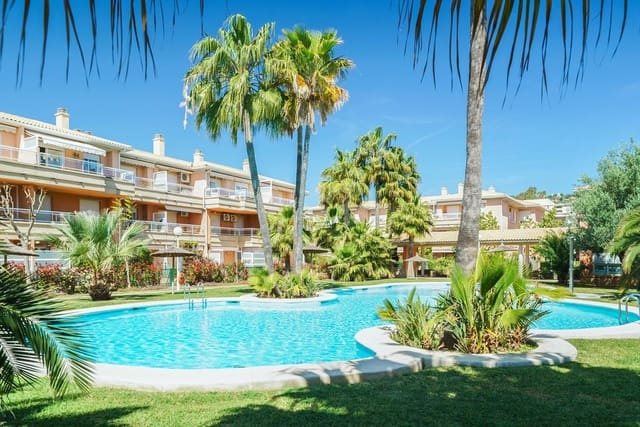 3 Zimmer Ferienapartment in Javea / Xabia mit Garage - 375 € (Ref: 3928615)