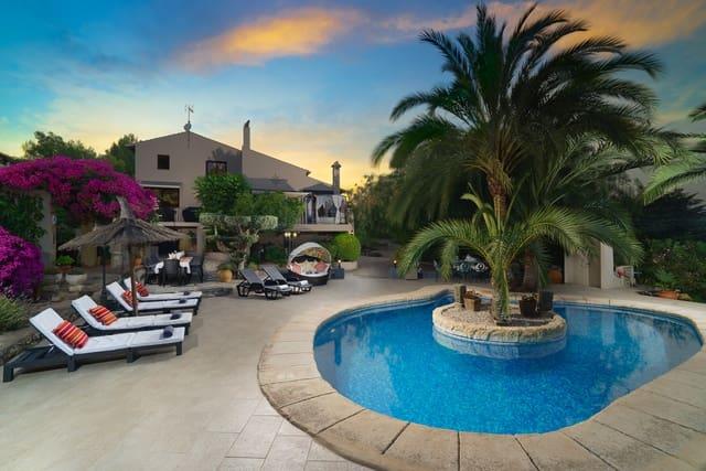 6 soverom Villa til salgs i Pedreguer med svømmebasseng garasje - € 1 525 (Ref: 3992345)