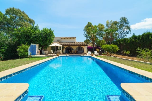3 Zimmer Ferienvilla in La Xara mit Pool Garage - 500 € (Ref: 4026164)
