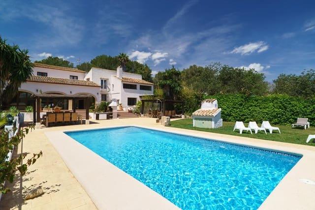 Chalet de 6 habitaciones en Javea / Xàbia en alquiler vacacional con piscina garaje - 560 € (Ref: 4026180)