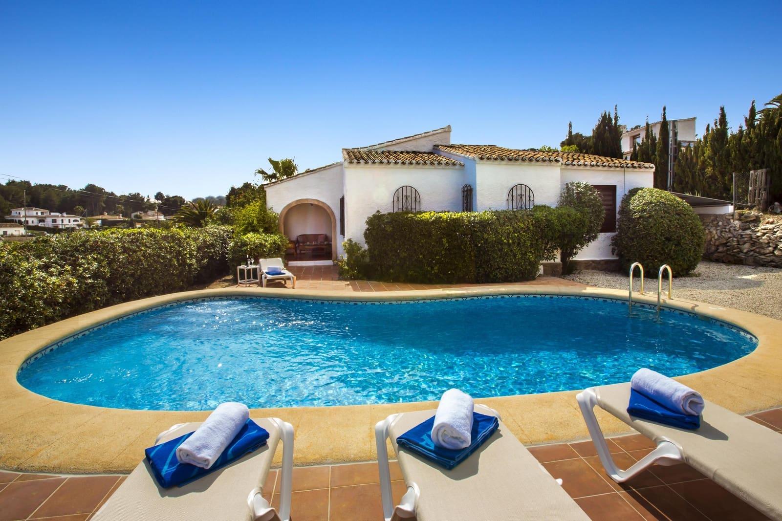 3 Zimmer Ferienfinca/landgut in Adsubia mit Pool Garage - 428 € (Ref: 4489447)