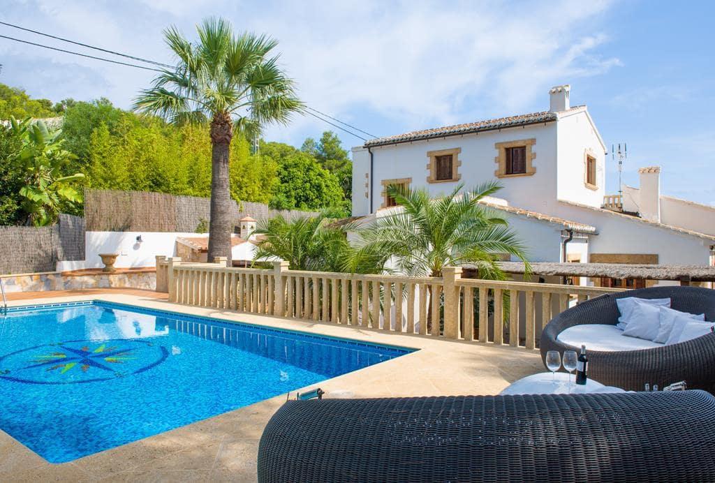 3 Zimmer Ferienfinca/landgut in Mar Azul mit Pool Garage - 931 € (Ref: 4537812)