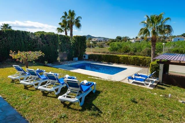 2 sypialnia Finka/Dom wiejski na kwatery wakacyjne w Javea / Xabia z basenem garażem - 520 € (Ref: 4549550)
