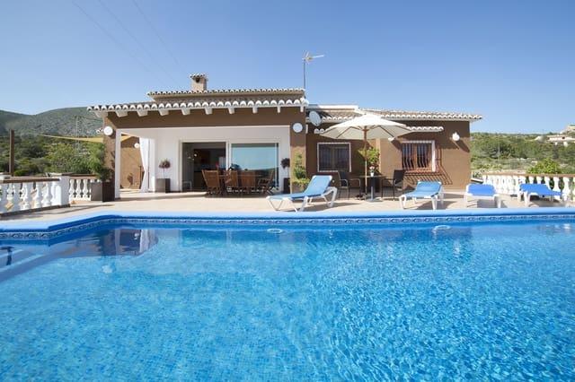 3 sypialnia Willa na kwatery wakacyjne w Teulada z basenem garażem - 457 € (Ref: 4586274)
