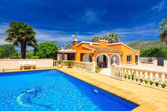 3 soverom Villa til salgs i La Sella med svømmebasseng garasje - € 423 (Ref: 4637565)