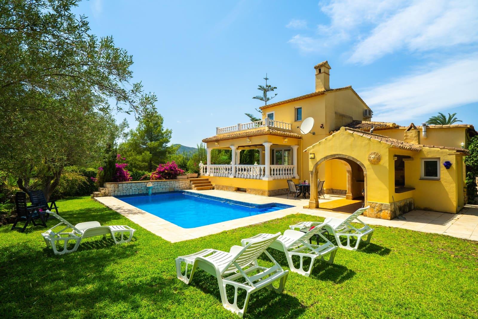 3 Zimmer Ferienvilla in Javea / Xabia mit Pool Garage - 749 € (Ref: 4706149)