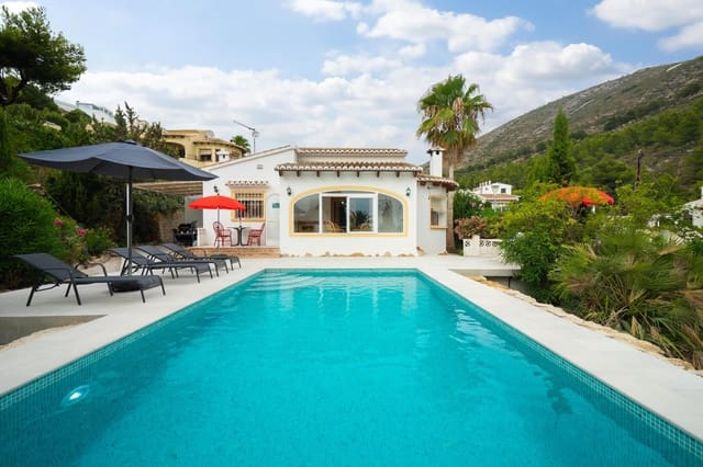 Chalet de 3 habitaciones en Benitachell / Benitatxell en alquiler vacacional con piscina - 525 € (Ref: 4712484)