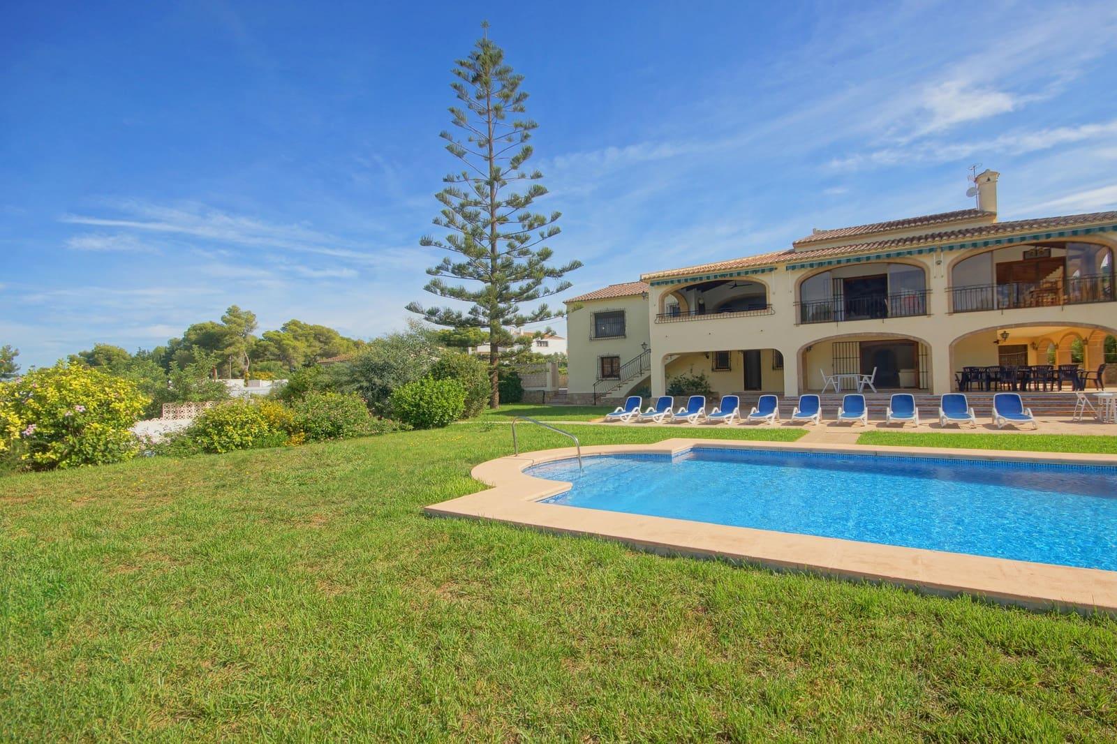 5 Zimmer Ferienfinca/landgut in Adsubia mit Pool Garage - 966 € (Ref: 4836017)