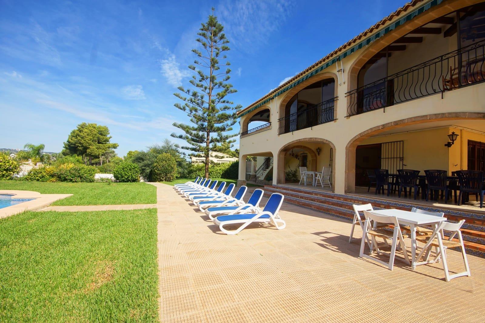 3 Zimmer Ferienfinca/landgut in Adsubia mit Pool Garage - 785 € (Ref: 4836020)