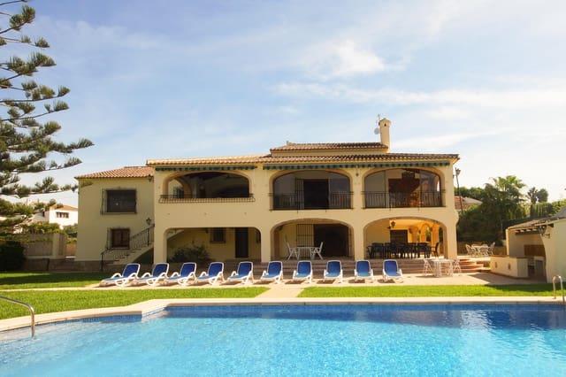 4 Zimmer Ferienfinca/landgut in Adsubia mit Pool Garage - 606 € (Ref: 4836021)
