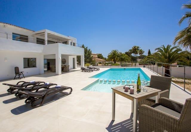 Chalet de 3 habitaciones en Moraira en alquiler vacacional con piscina garaje - 789 € (Ref: 4881634)
