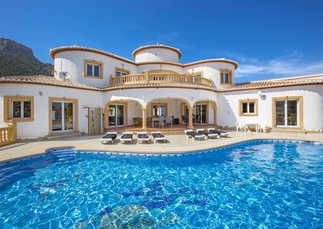 5 Zimmer Ferienvilla in Calpe / Calp mit Pool Garage - 878 € (Ref: 4881637)
