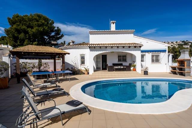 Finca/Casa Rural de 3 habitaciones en Benissa en alquiler vacacional con piscina garaje - 663 € (Ref: 4888637)
