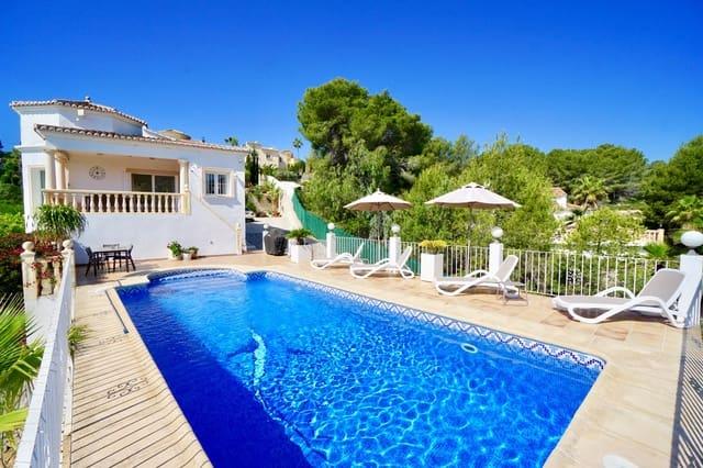 3 Zimmer Ferienfinca/landgut in Benissa mit Pool Garage - 738 € (Ref: 4888638)