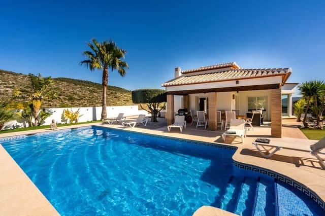 4 sypialnia Finka/Dom wiejski na kwatery wakacyjne w Benitachell / Benitatxell z basenem garażem - 649 € (Ref: 4888639)