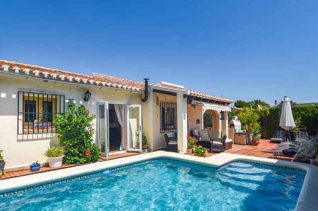 3 bedroom Villa for holiday rental in La Sella with pool garage - € 711 (Ref: 5385276)