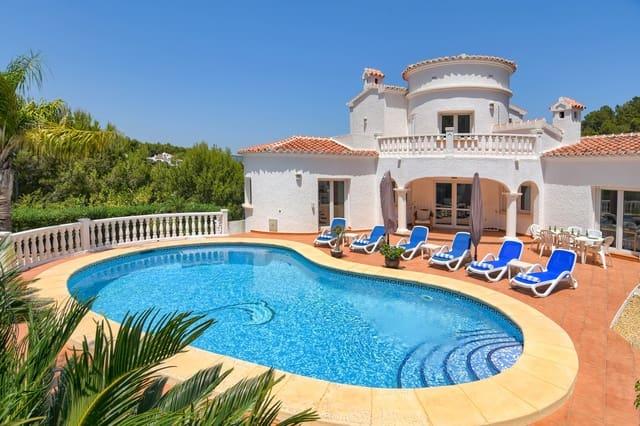 2 Zimmer Ferienvilla in Javea / Xabia mit Pool Garage - 635 € (Ref: 5518111)