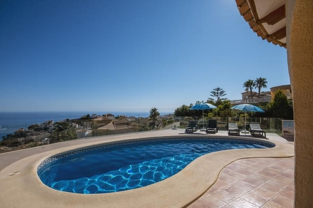 3 bedroom Villa for holiday rental in Cumbre del Sol with pool garage - € 1,092 (Ref: 5686647)