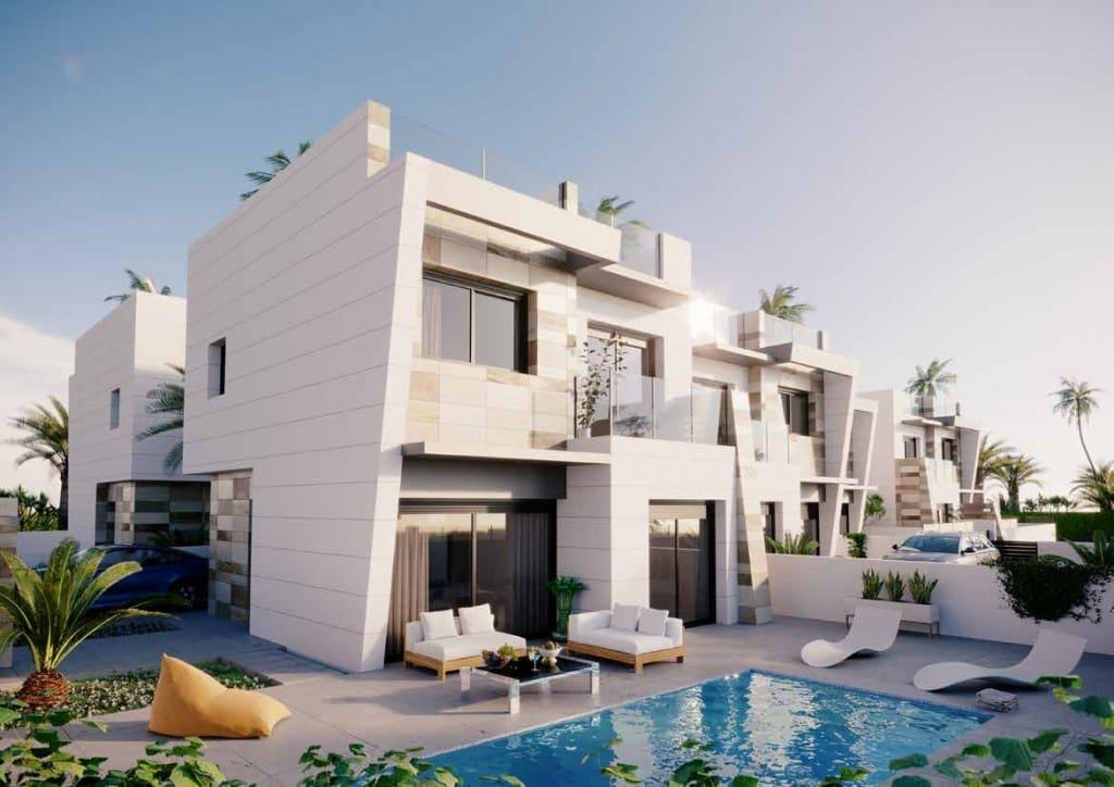 Chalet de 3 habitaciones en Benijófar en venta con piscina - 279.000 € (Ref: 4912420)