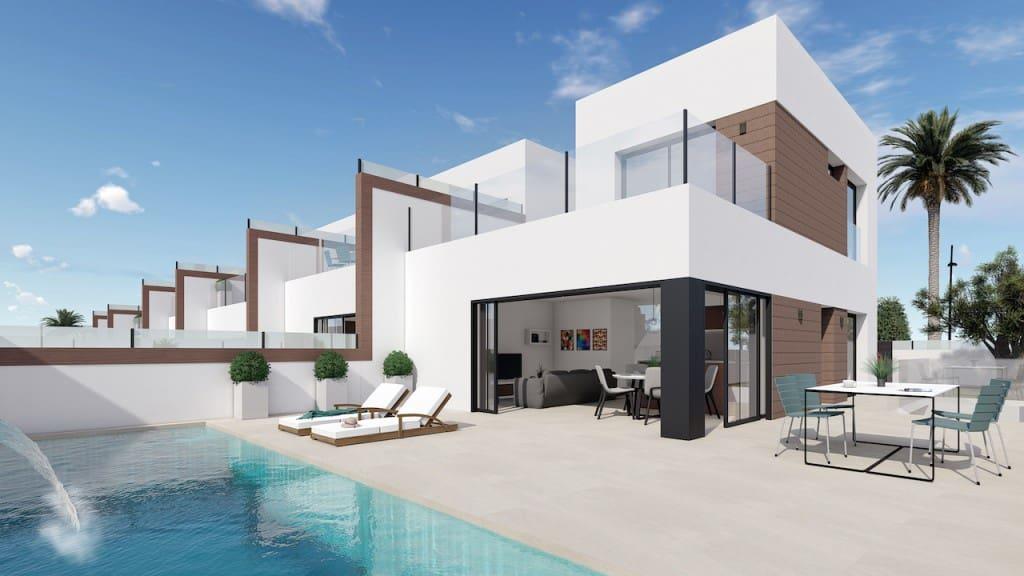 Chalet de 3 habitaciones en Benijófar en venta con piscina - 235.000 € (Ref: 4912565)