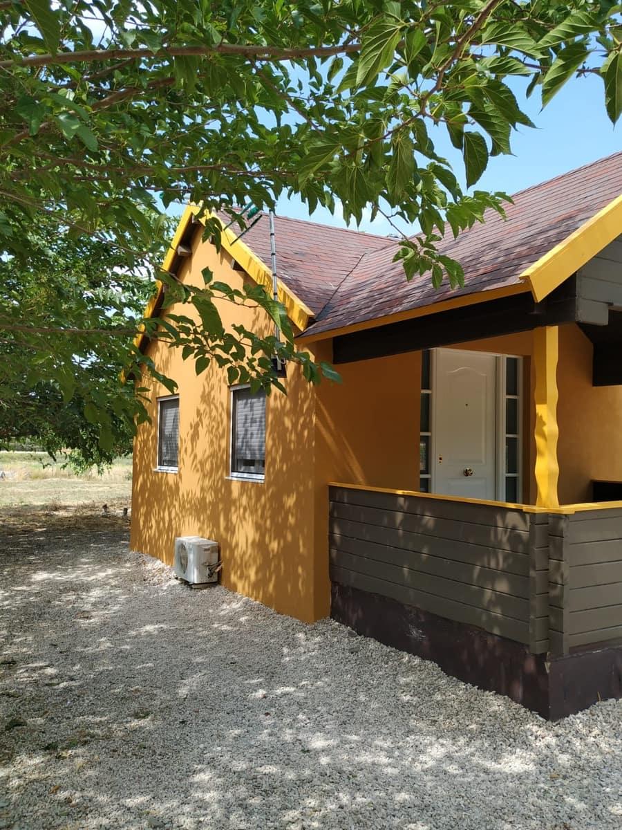 4 sypialnia Dom drewniany na sprzedaż w Agres z basenem - 100 000 € (Ref: 2970382)