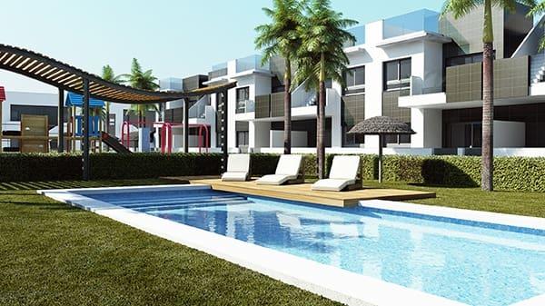 Bungalow de 2 habitaciones en Pilar de la Horadada en venta con piscina - 189.900 € (Ref: 3534690)