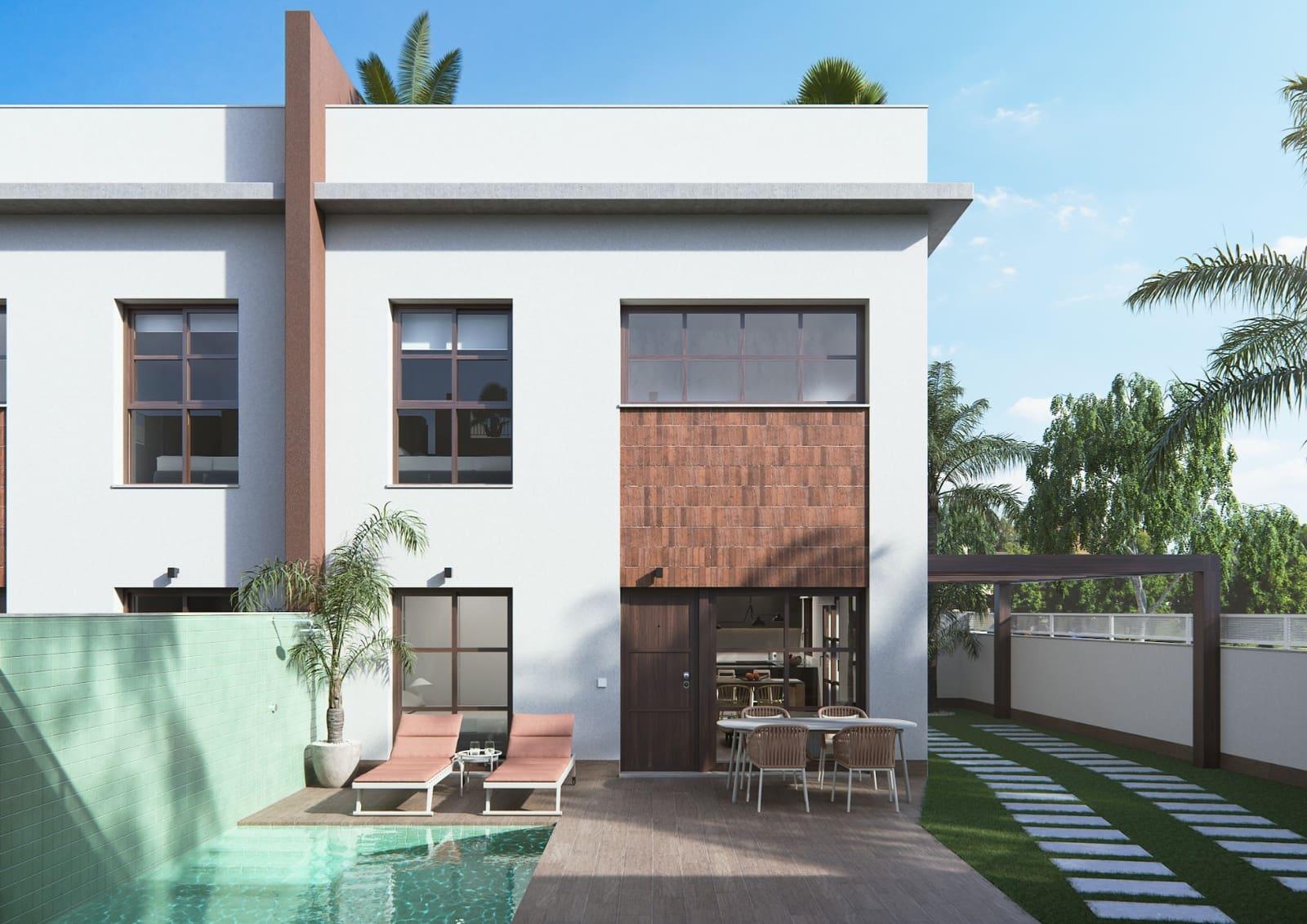 Apartamento de 3 habitaciones en Pilar de la Horadada en venta con piscina - 184.900 € (Ref: 4573103)