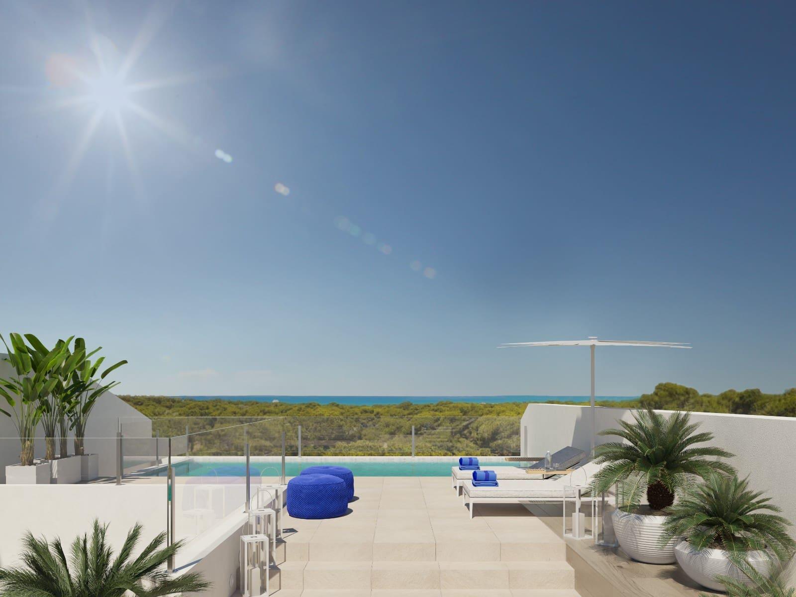 3 bedroom Apartment for sale in Guardamar del Segura with pool - € 248,000 (Ref: 4755411)