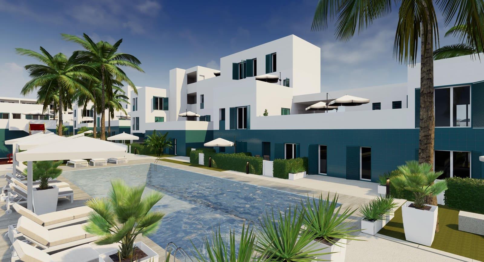 Apartamento de 2 habitaciones en Playa Flamenca en venta con piscina - 165.000 € (Ref: 4755413)