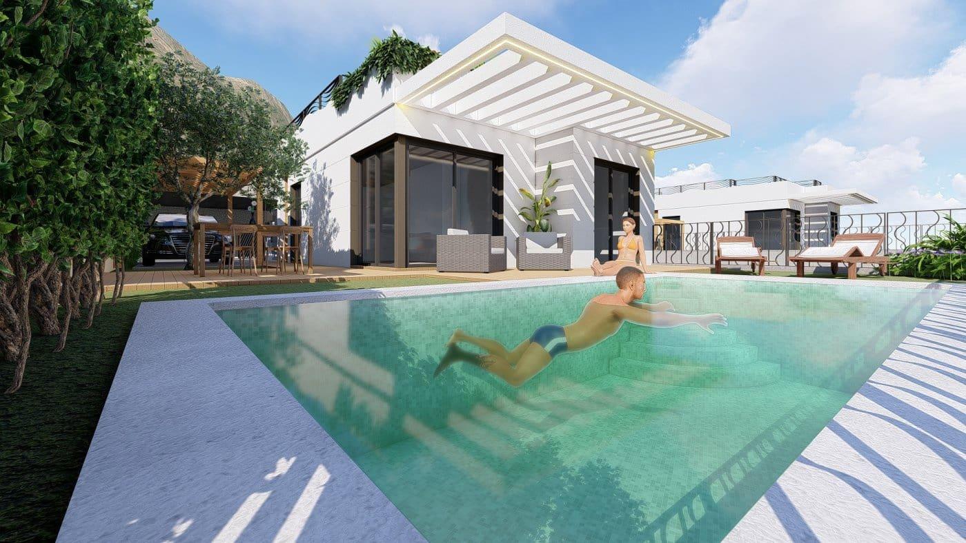 Chalet de 3 habitaciones en Polop en venta con piscina - 225.000 € (Ref: 4759779)